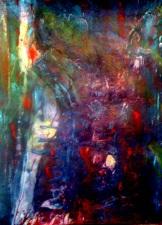 Crash collage dark red