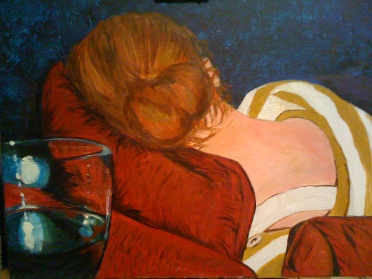 """Acrylic on Canvas 16: x 24"""" Private Collection"""