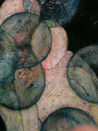 Stream of Consciousness, Oil and Pen on Plywood, 2012 $100