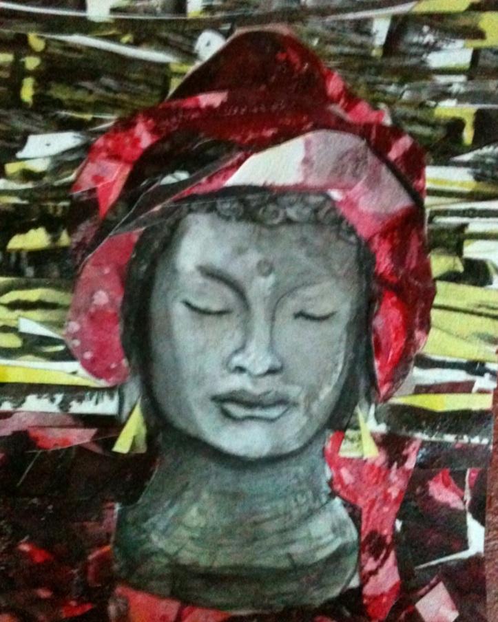 Meditating Red